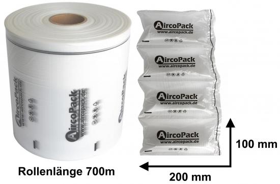 Aircopack Luftpolsterfolie 100mm x 200mm x 700 lfm für AP-X3